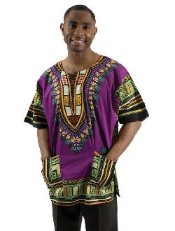 African Inspired Fashions - Traditional Thailand Style Dashiki
