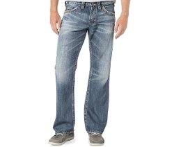 Silver Jeans - Relaxed-Fit Straight-Leg Zac Jeans