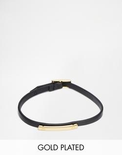 Asos - Pilgrim Leatherette Bracelet