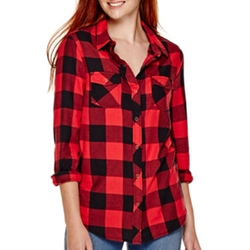 Arizona  - Long-Sleeve Plaid Shirt