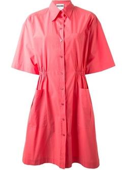 Moschino - Belted Shirt Dress