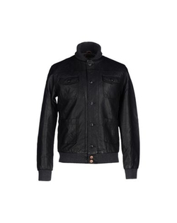 Jack & Jones Premium - Faux Leather Biker Jacket