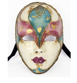 Largemouth - Italian Made Venetian Volto Mask