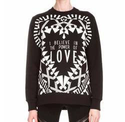 Givenchy  - Power of Love Graphic Sweatshirt