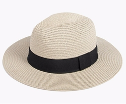 Boohoo - Madison Straw Fedora Hat