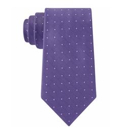 Calvin Klein - Texture Dot Slim Tie
