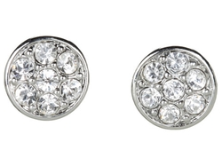 Lauren By Ralph Lauren - Round Crystal Studs Earrings