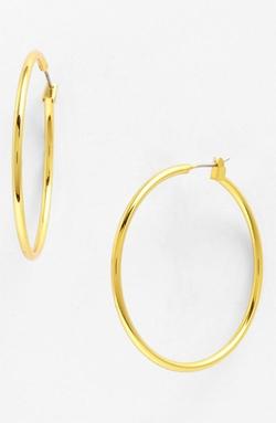 Anne Klein - Large Hoop Earrings