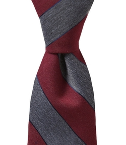 Cremieux - Slim Heather Stripe Tie