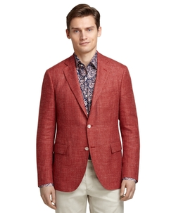 Brooks Brothers - Rust Hopsack Blazer