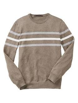 Gap - Factory Multi-Stripe Crewneck Sweater