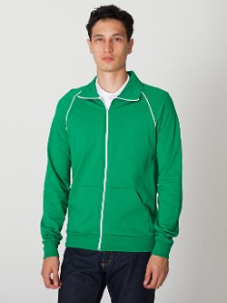 American Apparel - California Fleece Track Jacket