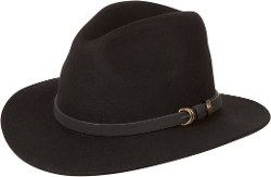 Sakkas  - Wide Brim Wool Fedora Hat