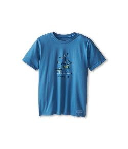 Life is good  - Kids Double Dip Crusher Tee