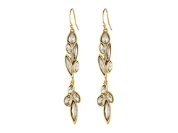 Alexis Bittar - Dangling Marquis Cluster Drop In Starlight Earrings