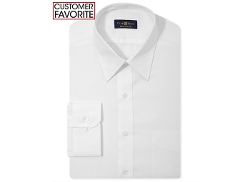 Club Room  - Estate Wrinkle Resistant White Dress Shirt