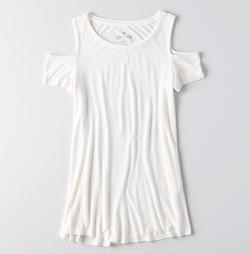 American Eagle Outfitters - AEO Soft & Sexy Cold Shoulder T-Shirt