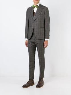Al Duca D'aosta 1902   - Check Print Suit