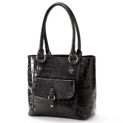Croft & Barrow - Crocodile Shopper Bag