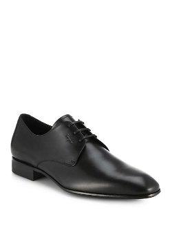 Salvatore Ferragamo  - Palagio Leather Oxford Shoes