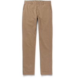 Etro - Washed Cotton-Blend Chino Pants