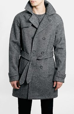 Topman  - Wool Blend Trench