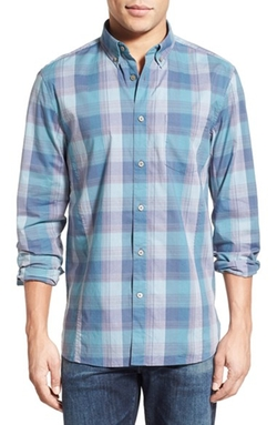 John Varvatos Star USA - Slim Fit Plaid Sport Shirt