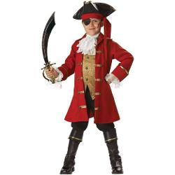 InCharacter Costumes - LLC Boys 8-20 Pirate Captain Vest Set