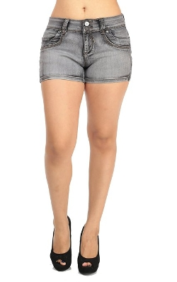 Modaxpressonline - Short Denim Shorts