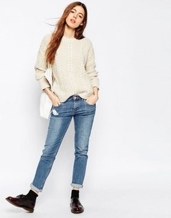 Asos Collection - Cable Stitch Sweater