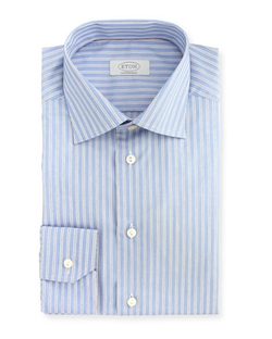 Eton - Double Track-Stripe Dress Shirt