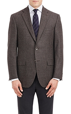 Piattelli  - Tweed Two Button Sportcoat