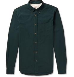 Acne Studios - Button-Down Collar Cotton Shirt