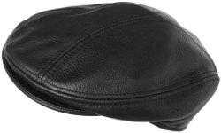 Headchange - Leather Ivy Scally Cap Driver Hat Euro Cut Broner