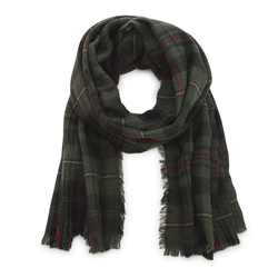 Sole Society - Wool Plaid Scarf