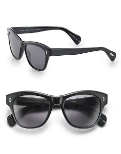Oliver Peoples  - Polarized Square Sunglasses