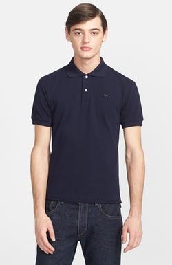 Comme des Garçons  - Piqué Polo Shirt