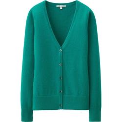 Uniqlo - Cashmere V-Neck Cardigan Sweater