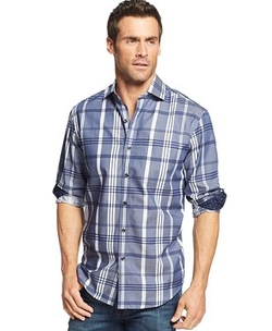 Tasso Elba - Bristol Long-Sleeve Plaid Shirt