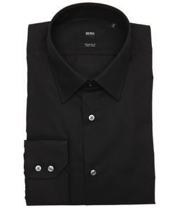 Hugo Boss - Cotton Point Collar Dress Shirt