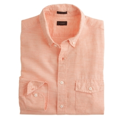 J. Crew - Slim Cotton-Linen Shirt