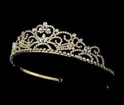 Melissa Kay Collection - Crystal Elegant Princess Tiara
