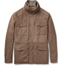 Loro Piana - Traveller Suede Field Jacket