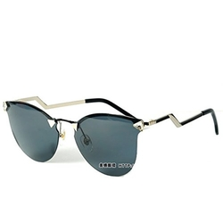 GodBless - Unisex Retro Diamond Round Frame Sunglasses