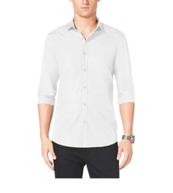 Michael Kors - Slim-Fit Stretch-Cotton Shirt