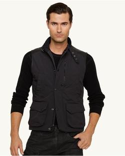 Ralph Lauren - Modern Poly-Oxford Vest