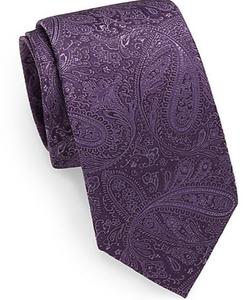 Bristol & Bull - Tonal Paisley Silk Tie