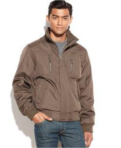 Calvin Klein  - Full-Zip Ripstop Bomber Jacket