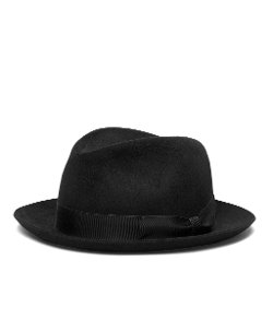 Brooks Brothers - Tonal Ribbon Fedora Hat