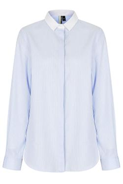 Topshop - Premium Pinstripe Shirt